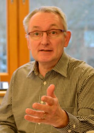 Michael Wentzke im engagierten Einsatz für Biogas-BHKW-Betreiber