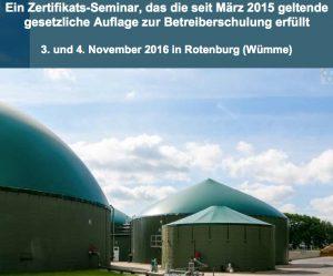 Sicherer Betrieb der Biogasanlage gemäß TRGS 529