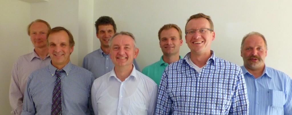 Gründungsmitglieder des Vereines IG Biogasmotoren