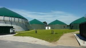 Gärstrecke  Biogasanlage Rendswühren
