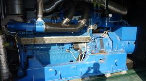Biogasmotor TCG 2016 C V16 MWM