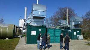 Motor-Talk an zwei Biogas-BHKWs