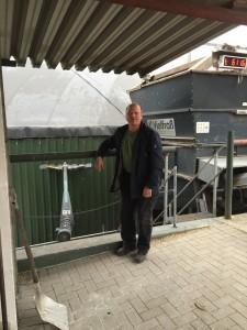 Landwirt und Biogasanlagen-Betreiber Georg Rahlfs
